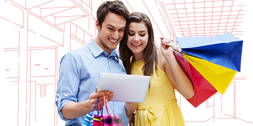 service tiers shopping mall wifi solutions