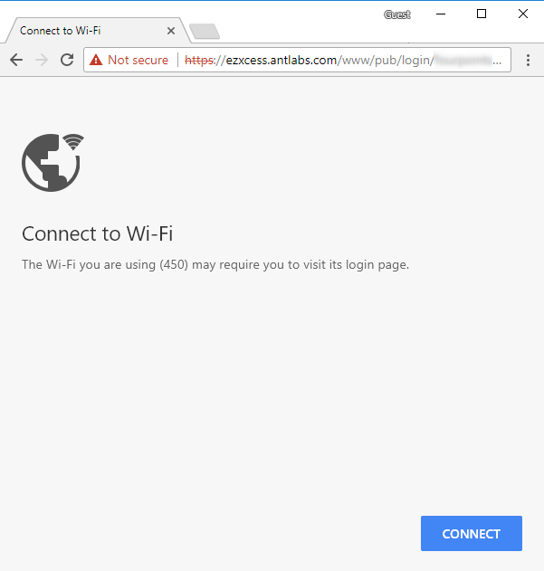 Advisory: Captive Portal Redirection for HTTPS Websites - ANTlabs